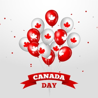 Canada dag achtergrondthema