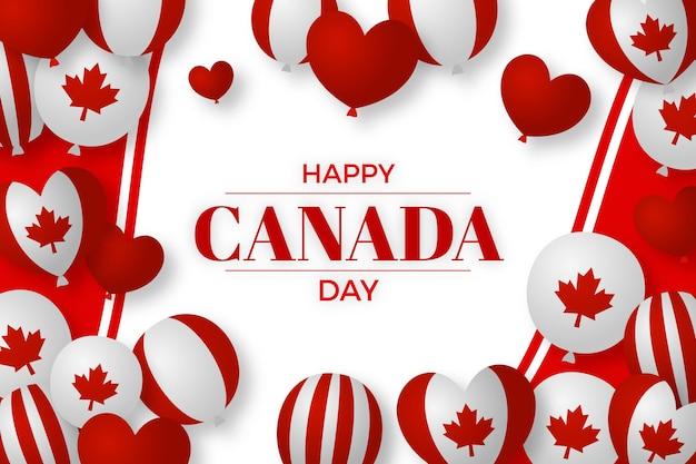 Canada dag behang