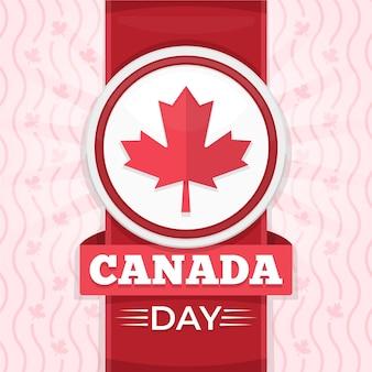 Canada dag concept