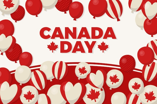 Canada dag wallpaper thema