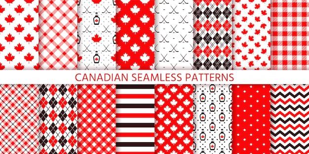 Canada naadloze patroon.
