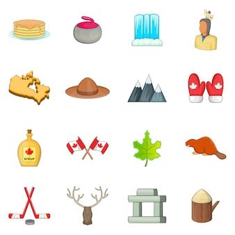 Canada pictogrammen instellen