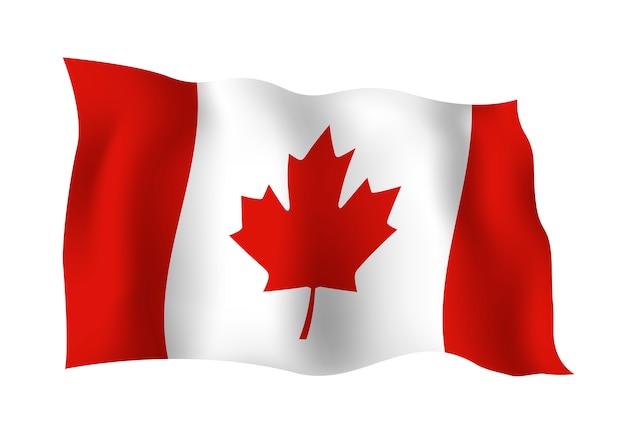 Canada vlag geïsoleerd