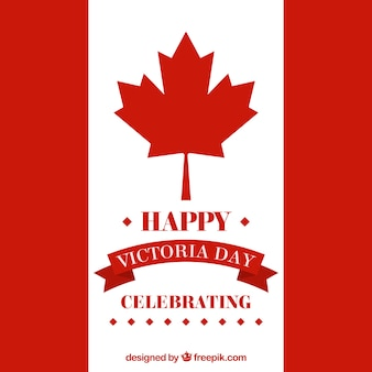 Canada vlag viering achtergrond van victoria dag