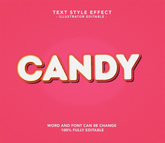 Candy lettertype