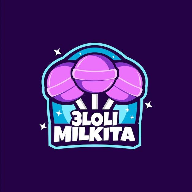 Candy lollipop-logo