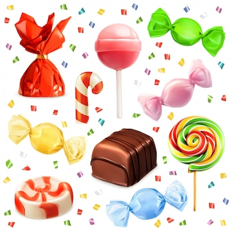 Candy set, s