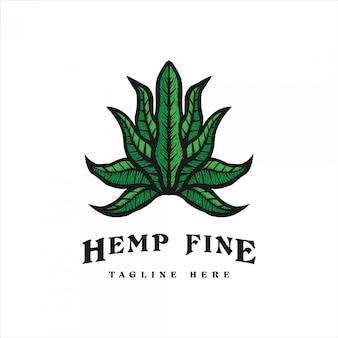Cannabis vintage logo