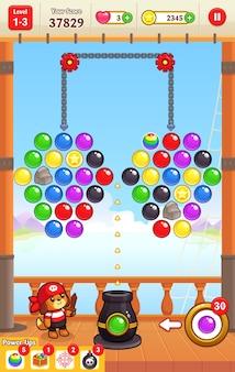 Cannon ball shooter-spelactiva