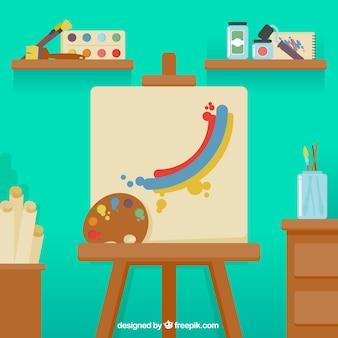 Canvas voor het schilderen