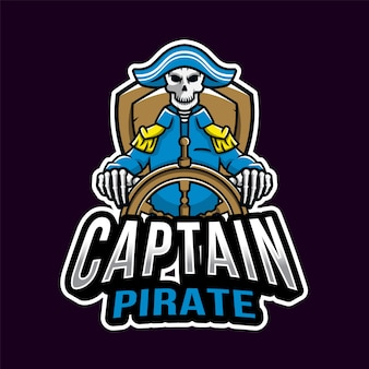 Captain pirate esport-logo