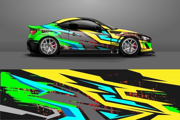 Car wrap ontwerp.