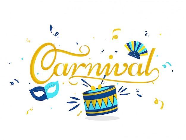 Carnaval achtergrond.