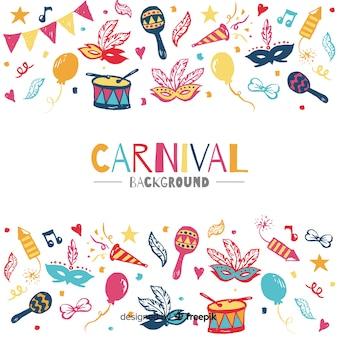 Carnaval achtergrond