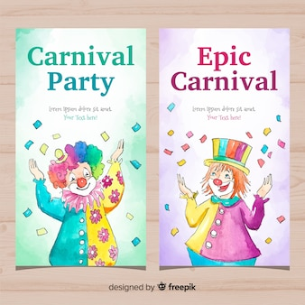 Carnaval-banners