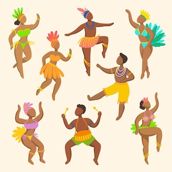 Carnaval danser collectie
