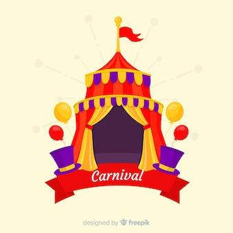 Carnaval in het circus