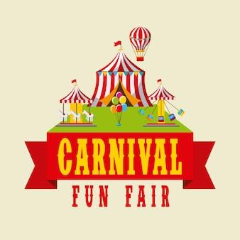 Carnaval kermis amusementfestival