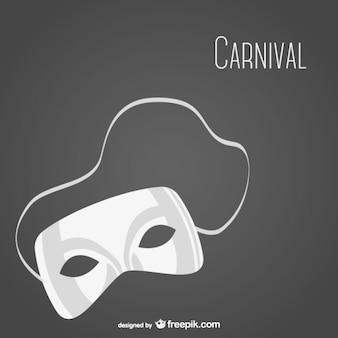 Carnaval masker vector gratis te downloaden