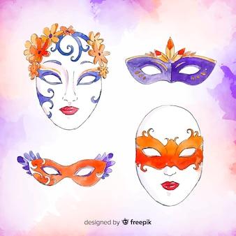 Carnaval maskerverzameling