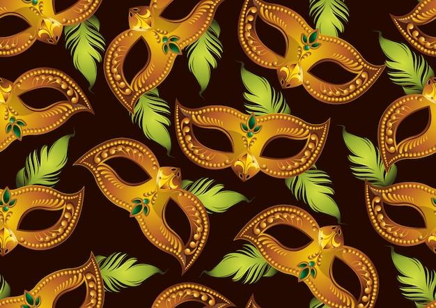 Carnaval naadloos patroon