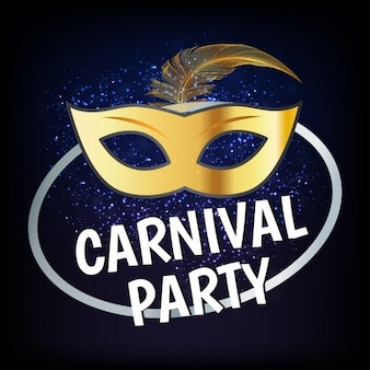 Carnaval party mask