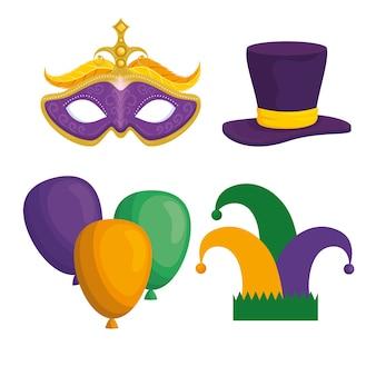 Carnaval van mardi gras