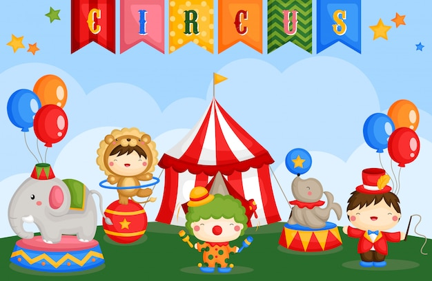Carnival circus day