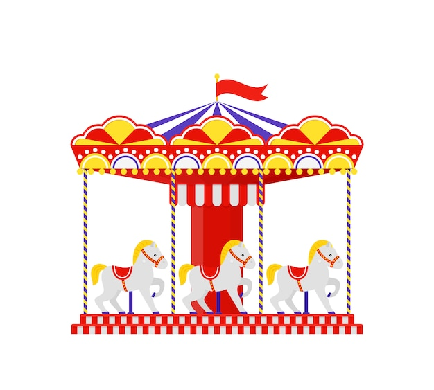 Carrouselpaard. merry go round.