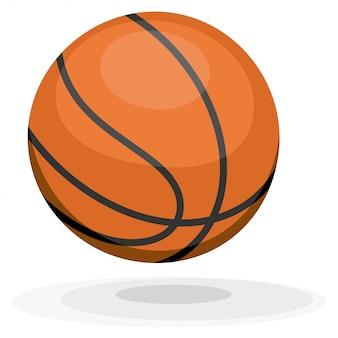 Cartoon basketbal