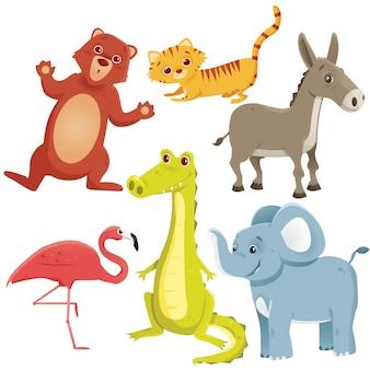 Cartoon dieren