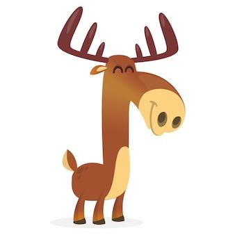 Cartoon eland illustratie