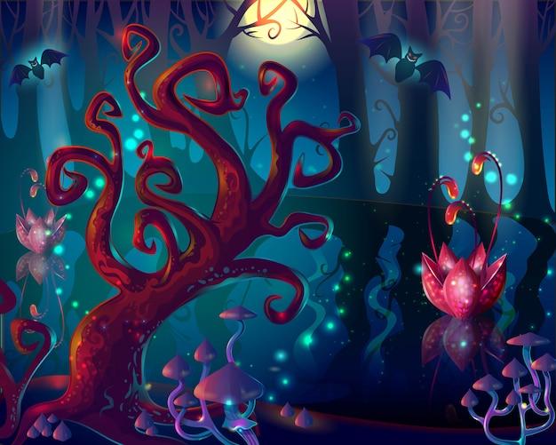 Cartoon hout game-ontwerp