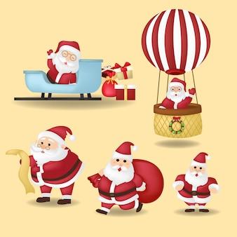 Cartoon kerst illustraties