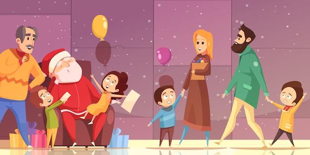 Cartoon kerstmis