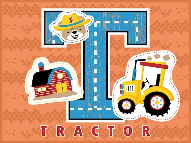 Cartoon landbouw