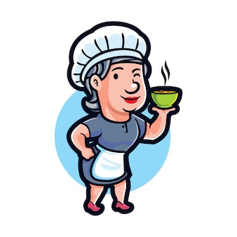 Cartoon mama cook