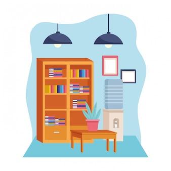 Cartoon moderne decoratie stijl cartoon