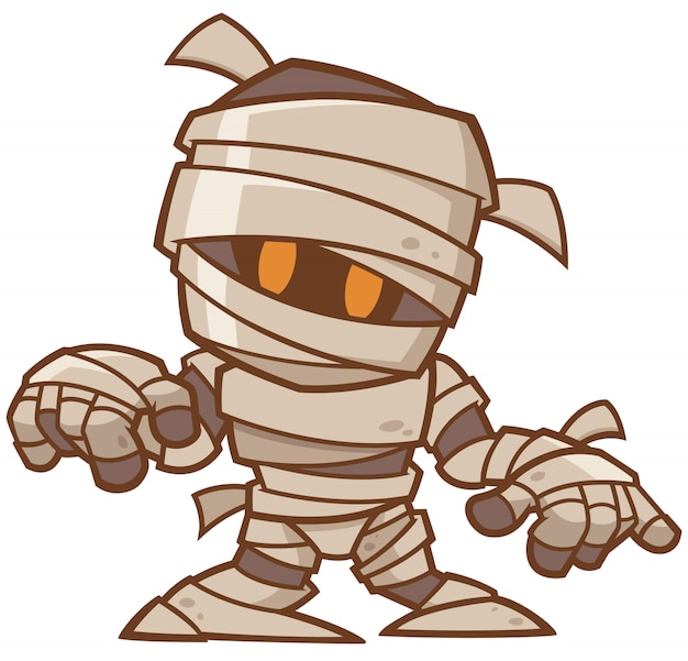 Cartoon mummie