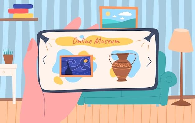 Cartoon museum-tentoonstelling online