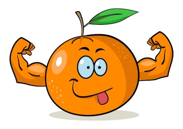 Cartoon oranje