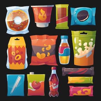 Cartoon snack collectie
