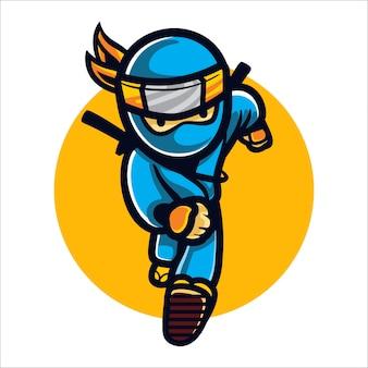 Cartoon snelle ninja