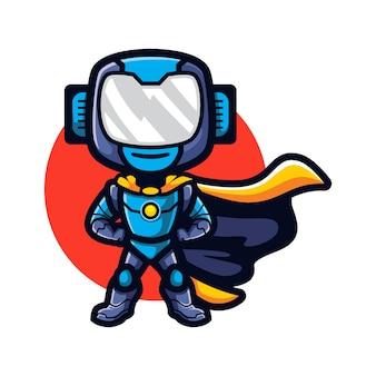 Cartoon super robot