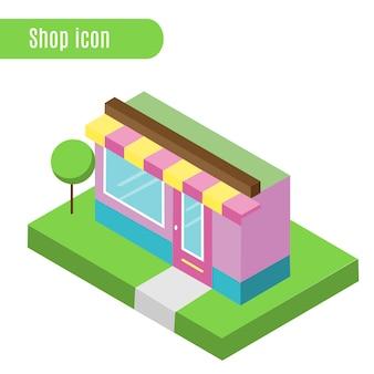 Cartoon winkel