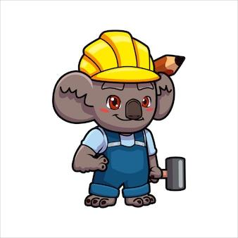 Cartoonbouw koala