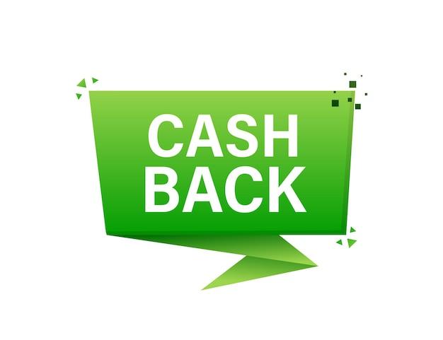 Cashback concept-logo