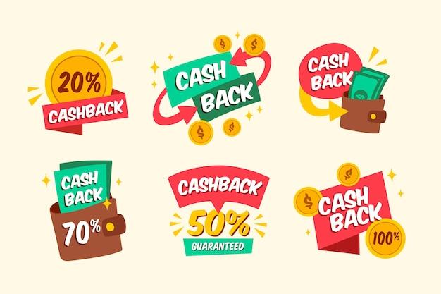 Cashback-etikettenpakket