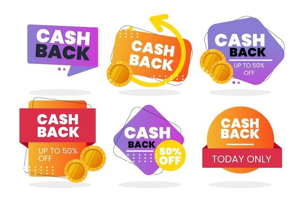 Cashback-labels