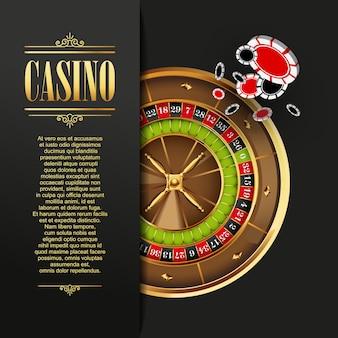 Casino achtergrond vectorillustratie